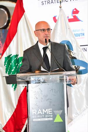 """فنيانوس: """"لبنان يتحضر لقفزة نوعية على مستوى البنى التحتية"""""""