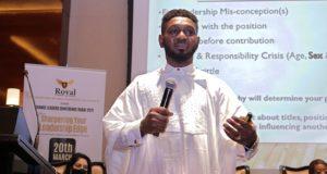 Dr James Okpanachi at the RLC Dubai_1617105155